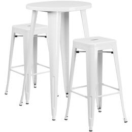 Flash Furniture CH51080BH230SQSTWHGG