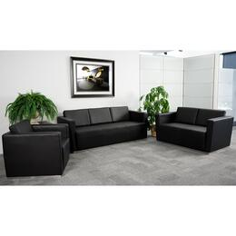 Flash Furniture ZBTRINITY8094SETBKGG