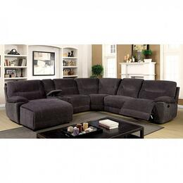 Furniture of America CM6853SECTIONAL
