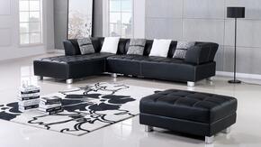 American Eagle Furniture AEL138RBK