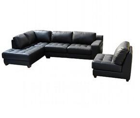 Diamond Sofa LAREDOLF3PCSECTB