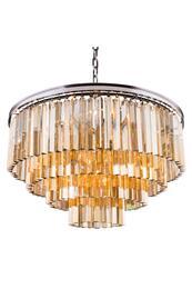 Elegant Lighting 1201D32PNGTRC