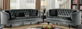 Furniture of America CM6145GYSFLV