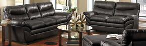 Soho 9515-0302 2 Piece Set including Sofa and Loveseat with Bonded Leather  in Onyx