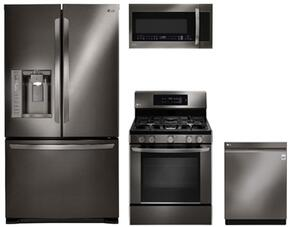 Lg Lfx25973d 36 Inch Black Stainless Steel Series French