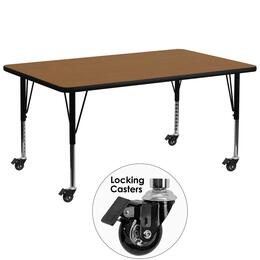 Flash Furniture XUA3072RECOAKTPCASGG