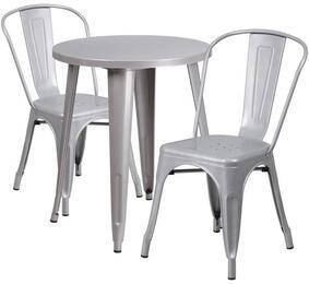 Flash Furniture CH51080TH218CAFESILGG