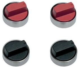 Set of Red Knobs with Addition......