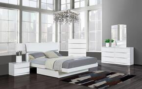 Global Furniture USA AURORAWHFBSET