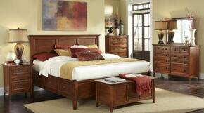 WSLCB5091Q4P Westlake 4-Piece Bedroom Set with Queen Sized Storage Bed, Dresser, Mirror and Single Nightstand