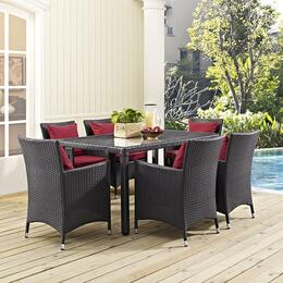Convene EEI1923EXP6AC 7 PC Patio Set with 59