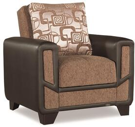 Casamode MONDOMODERNARMCHAIRBrown05583
