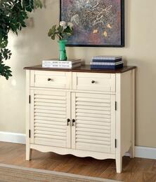 Furniture of America CMAC131WH