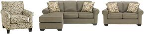 Benchcraft 3550018 Danely Series Stationary Fabric Sofa