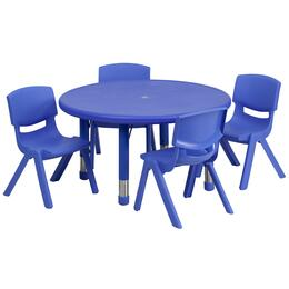 Flash Furniture YUYCX00732ROUNDTBLBLUEEGG