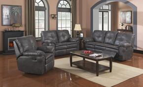 Comfort Zone Collection SU-KV110-305-3PCSET 3 Piece Reclining Living Room Set with Sofa + Loveseat + Recliner