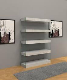 VIG Furniture VGCNAURAWHTBOOKCASE