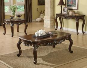 8006456 Remington 3 PC Table Sets with Coffee Table + End Table + Sofa Table in Cherry Finish