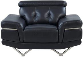 Global Furniture USA U8740BLANCHEBLACKCH