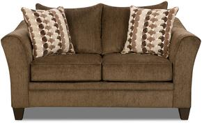 Simmons Upholstery 648502ALBANYCHESTNUT