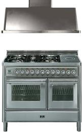 2-Piece Stainless Steel Kitchen Package with UMT120SDMPI 48