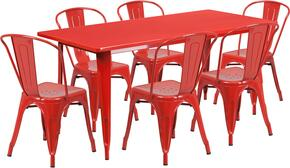 Flash Furniture ETCT005630REDGG