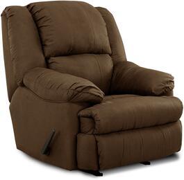 Simmons Upholstery U60419LUNACHOCOLATE