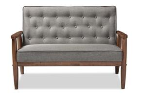 Wholesale Interiors BBT8013GREYLOVESEAT