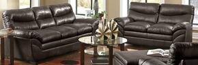 Soho 9515-0302  2 Piece Set including Sofa and Loveseat with  Bonded Leather  in Espresso