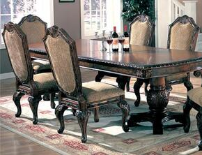100131SET5 Saint Charles 5 Pcs Dining Set (Table and 4 Chairs) by Coaster Co.