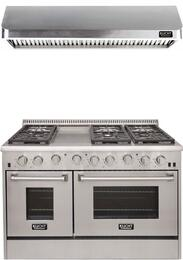 Professional Series 2-Piece Stainless Steel Kitchen Package with KRD486FLP 48