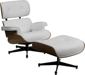 Flash Furniture ZBPRESIDEOCH001OTTWHITEGG