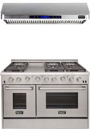 Professional Series 2-Piece Stainless Steel Kitchen Package with KRG4804ULP 48