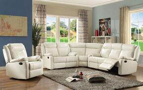 Glory Furniture G762SECTIONALPEARL