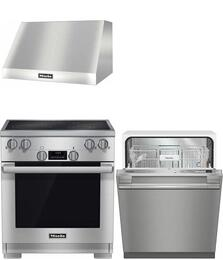 3-Piece Stainless Steel Kitchen Package with HR1421E240V 30