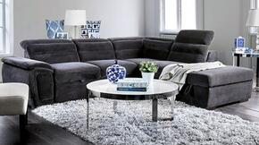 Furniture of America CM6521GYSECT