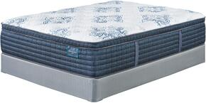 Mt. Dana Euro Top Collection M78951-M81X52 California King Mattress Set with Mattress and 2-Piece Foundation