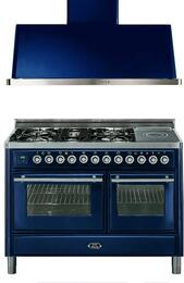 2-Piece Midnight Blue Kitchen Package with UMT120SDMPBL 48