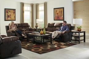 Henderson Collection 4355-1152-18/1300-28SET 3 PC Living Room Set with Reclining Sofa + Loveseat + Recliner in Steel Color