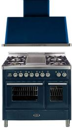 2-Piece Midnight Blue Kitchen Package with UMTD100FDMPBL 40
