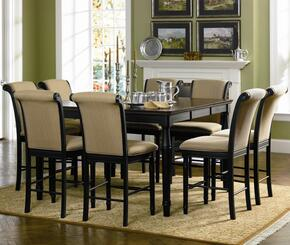 101828SET5 Cabrillo 5 PC Dining Set (Table & 4 Chairs) by Coaster Co.