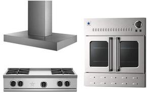 3-Piece Stainless Steel Kitchen Package with RGTNB364FTV2NG 36