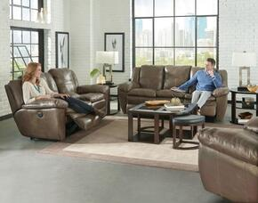 Aria Collection 64191-1283-18/3083-18SET 3 PC Living Room Set with Power Lay Flat Reclining Sofa + Loveseat + Recliner in Smoke Color