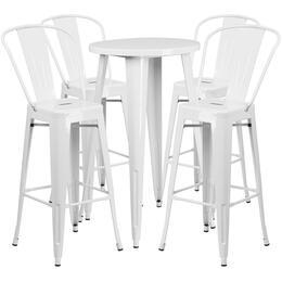 Flash Furniture CH51080BH430CAFEWHGG