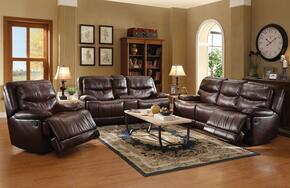 Cerviel 51500SLRT 6 PC Living Room Set with Sofa + Loveseat + Recliner + Coffee Table + 2 End Tables in Burgundy Color