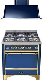 2-Piece Midnight Blue Kitchen Package with UMC906DVGGBL 36