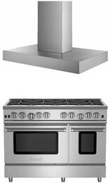 2-Piece Kitchen Package with RNB488BV2NG 48