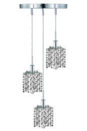 Elegant Lighting 1283DRPCLSA