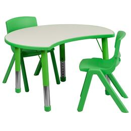 Flash Furniture YUYCY0930032CIRTBLGREENGG