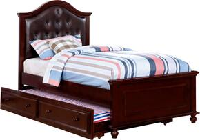 Furniture of America CM7155EXTBEDTRUNDLE